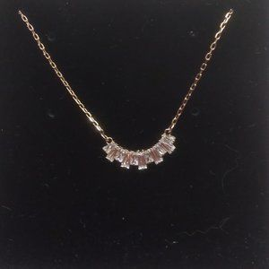 Swarovski New Gold Crystal Necklace